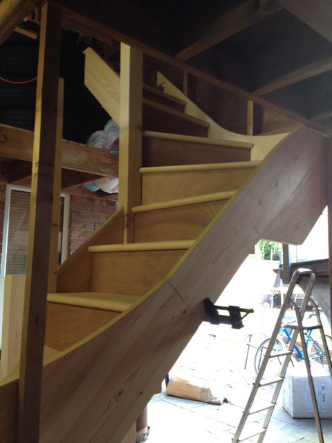 All Of Johnu0027s Stairs Are Glued And Wedged. He Likes Keeping Hold Of The Old  Crafts That Are About Quality And Strength.