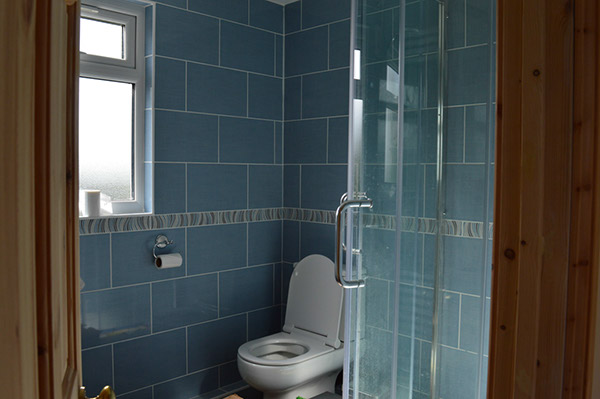 A shower room - a great addition to any loft conversion