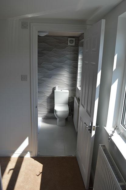 An extra bathroom