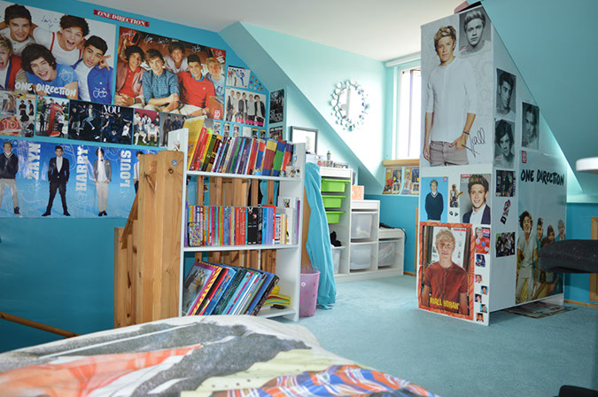 We think it's fair to say that Leonie has made the space her own!
